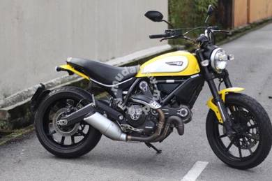 Ducati Scrambler Icon Yellow 803cc Heavy