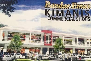 New 2Sty Shop & office lot facing Beaufort Papar at Kimanis
