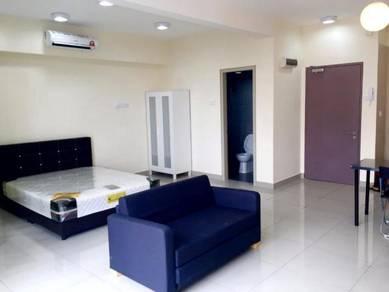 Flexis One South Condo Studio unit Fully Furnished, Seri Kembangan