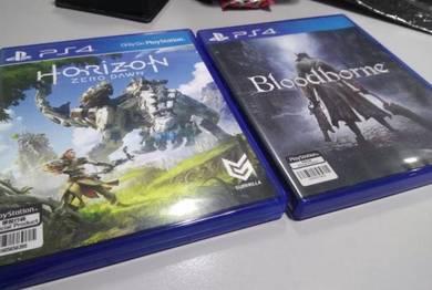 PS4 Games - Blood Borne & Horizon Zero Dawn