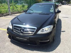 Mercedes W221 facelift S65 AMG style conversion