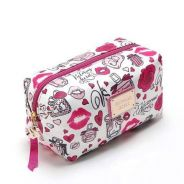 Victoria's Secret Pink Lipstick Makeup Bag