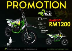 Mini Dirt Bike 49cc (Green)