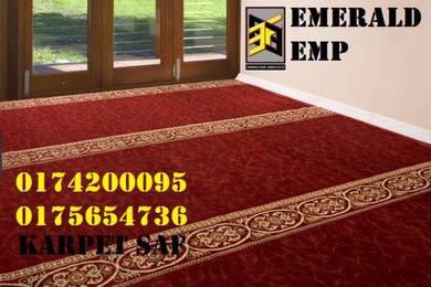 Karpet masjid berkualiti buatan turkey