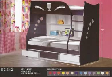 Wooden Children bed -8342