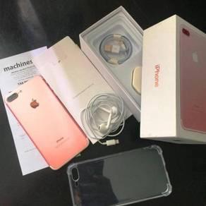 Iphone 7 plus 128gb MY R Gold Conditn10/10 Machine