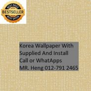 3D Korea Wall Paper with Installation wszx0