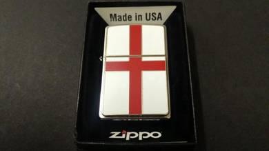 ORIGINAL ZIPPO England flag emblem