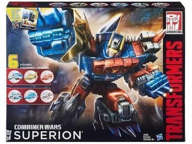 Hasbro Transformer Generation CombinerWar Superion