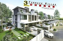 Cheras 3-Storey Link House Freehold Zero-Downpayment Limited unit