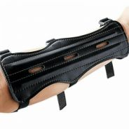 PU Strap Target Archery Arm Guard Protection