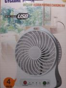 Portable USB Rechargeble Fan