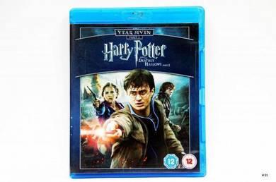 Original Bluray - HARRY POTTER Hallows 2 Blu-ray