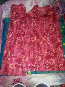 Baju kurung floral fashion