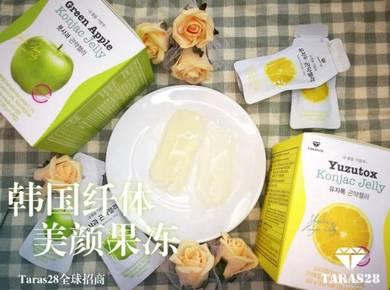 Taras28 Korea Green Apple Konjac Jelly - Slimming