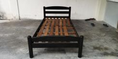 Second Hand Single Size Solid Wood Bed FrameBF 498