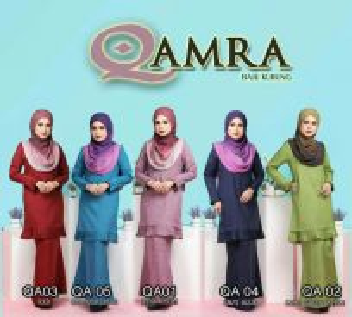 Baju Kurung Qamra