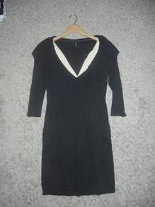 Jaker 187 BCBGMAXAZRIA black ladies mini dress
