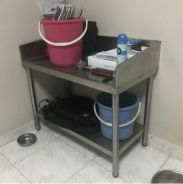 Kitchen stainless steal table - GOOD QUALITY