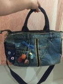Sling bag Jeans type