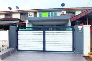 100% NEWLY RENOVATED 2Sty Terrace, Taman Semenyih Jaya Kajang
