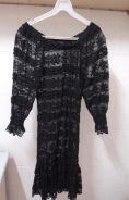 Classy Full Lace Black Dress (Nichii Size S)