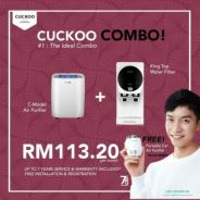 Penapis air cuckoo king top + c model 113.20 sebul