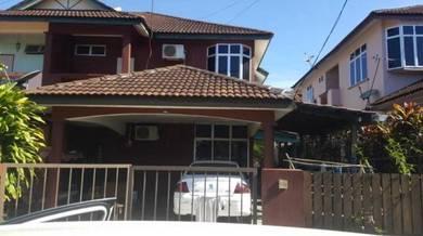 Rumah berkembar dua tingakat di taman melor jitra untuk dijual