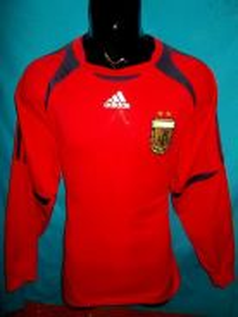 Argentina 2006 adidas goalkeeper jersey L