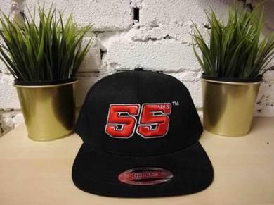 El Pescao 55Big Logo Baseball Snapback Cap