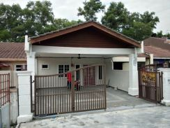 Non Bumi Single Storey Terrace House In Sikamat - Ready To Move In