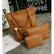 3 In 1 Set Leather bag