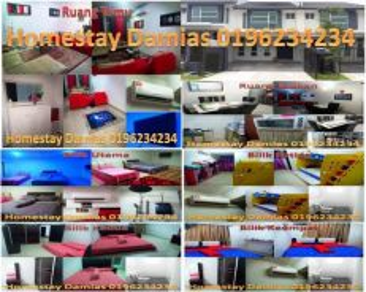 Homestay Bangi Avenue kami ada 4 bilik full perabut aircond