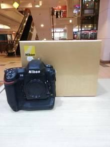 Nikon d5 body (sc 50k only) 95% new