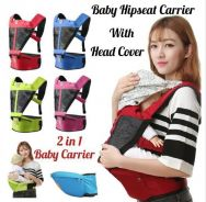 Kid Baby Hipseat Carrier With Head Cover (9)
