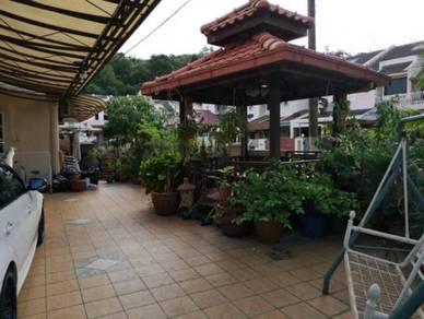 2 Storey Terrace Corner 2583sq - Changkat Sungai Ara - Fully Renovated