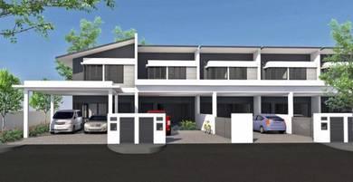 New taman flamingo double storey terrace