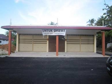 Kedai untuk disewa area pendang