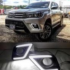 Toyota Hilux Revo Front Bumper Led Daylight DRL