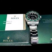 PREOWNED ROLEX SUBMARINER, Green HULK, 116610LV, 9