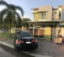 Puchong Prima Lavender 20x85 Corner House 2 Storey FOR SALE