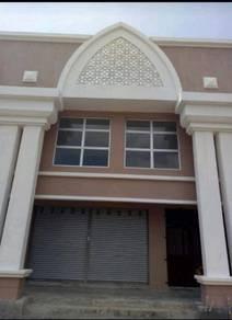 Kedai 2 Tingkat untuk disewa di Bandar Baru Tasik