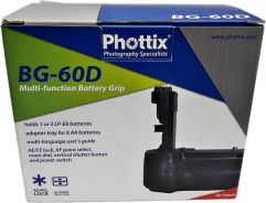 USED Phottix BG-60D Battery Grip for Canon EOS 60D
