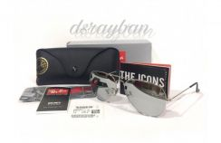 Original Ray Ban Aviator Silver Mirror