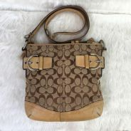 Authentic coach slingbag