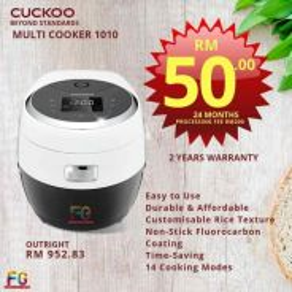 Periuk Nasi Cuckoo Gaba ( MultiCooker ) RKHS
