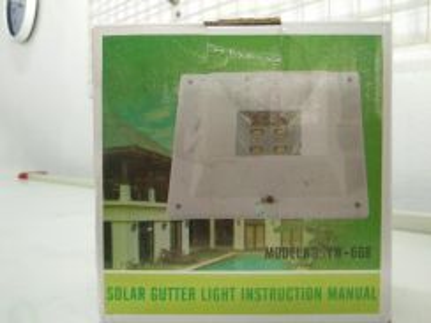 Solar light / Lampu solar