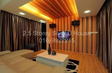 Exclusive High Quality Renovated Semi D at Taman Sejati Klang For Sale