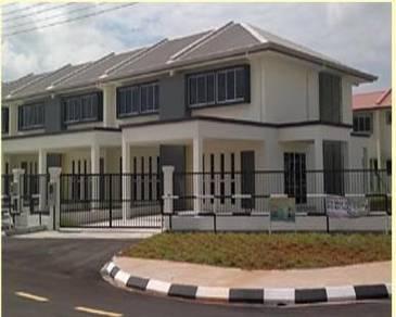 New Corner Double Storey House, Kuching City Mall, Stephen Yong