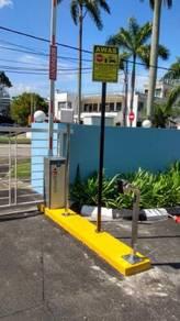 Barrier gate untuk taman